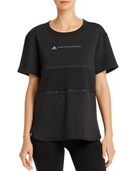 adidas by Stella McCartney - Run Mesh-Inset Tee