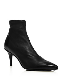 rag & bone - Women's Beha Stretch Leather Moto Ankle Booties