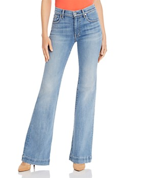 7 For All Mankind - Dojo Flared Jeans in Nolita