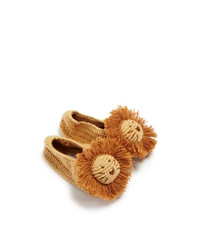 Albetta - Boys' Crochet Lion Booties - Baby