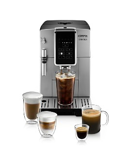 De'Longhi - Dinamica TrueBrew Over Ice™ Fully Automatic Coffee & Espresso Machine with Premium Adjustable Frother - 100% Exclusive