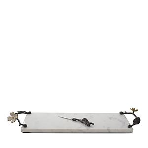 Michael Aram Dogwood Cheese Board & Knife Set, Small