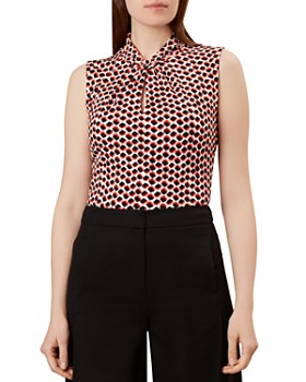 HOBBS LONDON - Amber Twist Detail Top