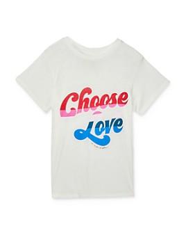 Spiritual Gangster - Girls' Choose Love Tee - Big Kid
