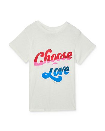 Spiritual Gangster - Girls' Choose Love Tee - Big Kid