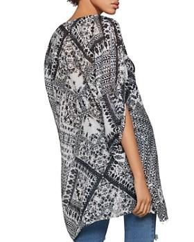 BCBGENERATION - Geometric Print Kimono