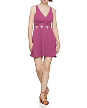 BCBGENERATION - Triangle-Cutout Fit-and-Flare Dress