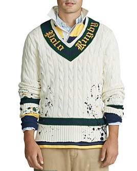Polo Ralph Lauren - Distressed Rugby Sweater