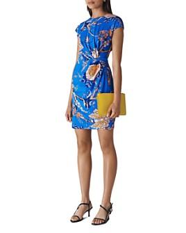 Whistles - Exotic Floral Silk Blend Dress