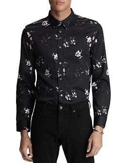John Varvatos Star USA - Stevie Floral-Print Regular Fit Shirt