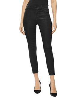 J Brand - Alana High Rise Cropped Skinny Jeans in Fearful
