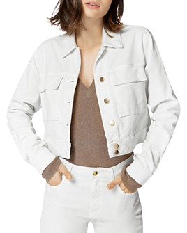 J Brand - Ray Cropped Corduroy Jacket