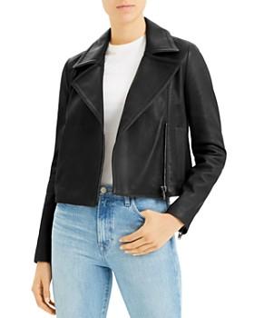 f0499cc4 Womens Black Leather Jacket - Bloomingdale's