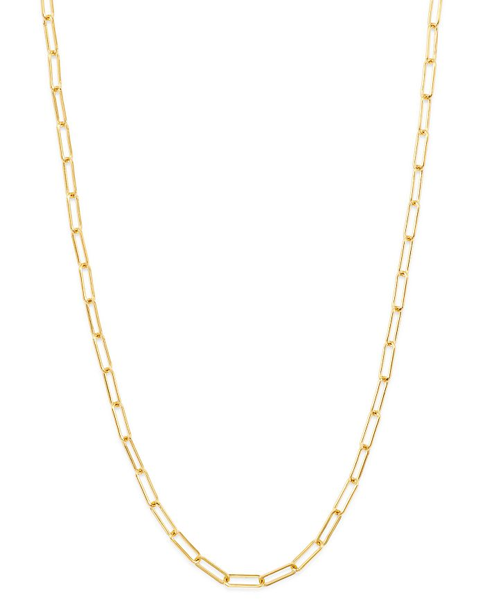 6d5b032021db8 14K Yellow Gold Open Link Chain Necklace, 18