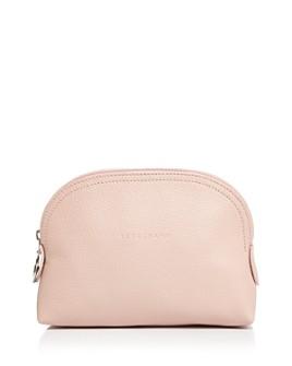 Longchamp - Le Foulonné Leather Cosmetics Case