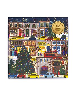 Galison - Winter Lights 500 Piece Puzzle