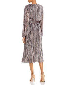 Rebecca Vallance - Bellagio Metallic Striped Dress