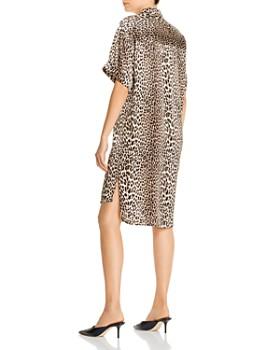 Notes du Nord - Melina Leopard-Print Silk Dress