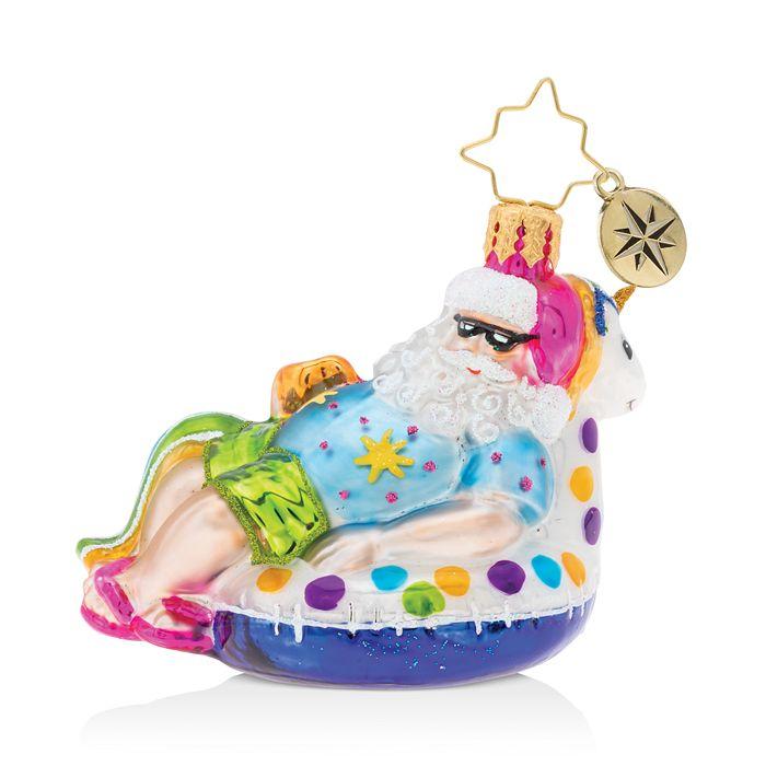 Christopher Radko - Floating Through The Holidays Gem Ornament