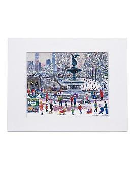 Michael Storrings - Bethesda Fountain Print