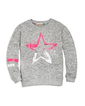 Vintage Havana - Girls' Neon Star Sweatshirt - Big Kid