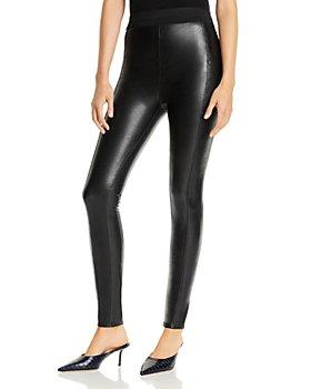 Cinq à Sept - Alice High-Waist Faux-Leather Pants