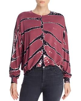 Young Fabulous & Broke - Coraline Tie-Dye Sweatshirt
