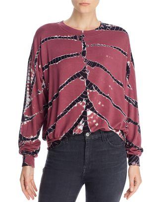 Young Fabulous Broke Coraline Tie Dye Sweatshirt Bloomingdale S