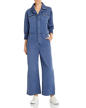 Current/Elliott The Penny Denim Boilersuit