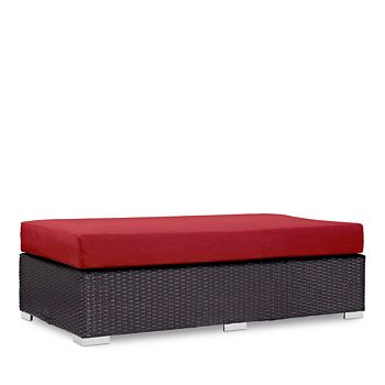Modway - Convene Outdoor Patio Rectangle Ottoman