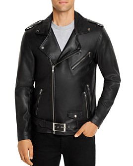 Zee Gee Why Denim - Leather Biker Jacket