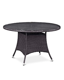 """Modway - Convene 47"""" Round Outdoor Patio Dining Table"""