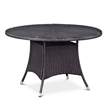 "Modway - Convene 47"" Round Outdoor Patio Dining Table"