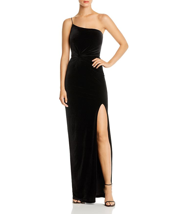 Nookie - One-Shoulder Velvet Gown - 100% Exclusive