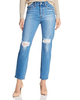 Levi's - Wedgie Icon Straight Jeans in Charleston Breeze