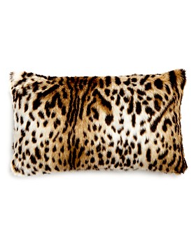 "Hudson Park Collection - Faux Fur Decorative Pillow, 12""x 20"" - 100% Exclusive"