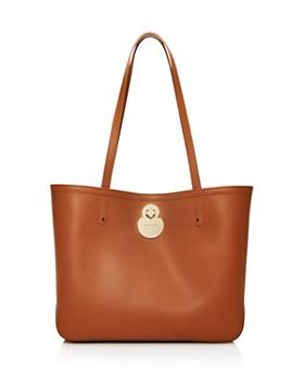 Longchamp - Cavalcade Medium Leather Tote