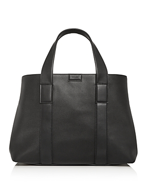Bottega Veneta Embossed Leather Tote Bag