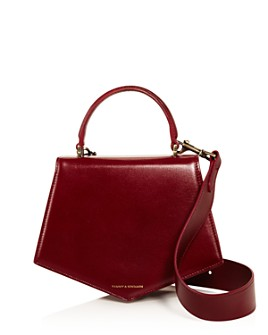 Tammy & Benjamin - Leather Asymmetric Crossbody