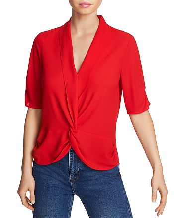 1.STATE - Twist-Front Blouse