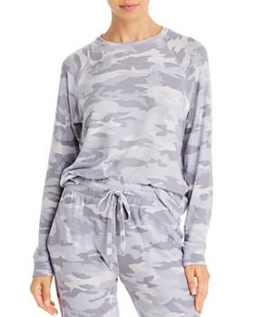 Beyond Yoga - Camo Raglan-Sleeve Sweatshirt