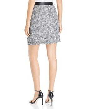 KARL LAGERFELD Paris - Tweed Mini Skirt