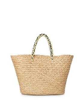 Whistles - Ashby Large Straw Beach Bag