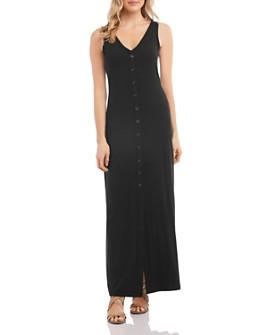 Karen Kane - Alana Button-Front Maxi Dress