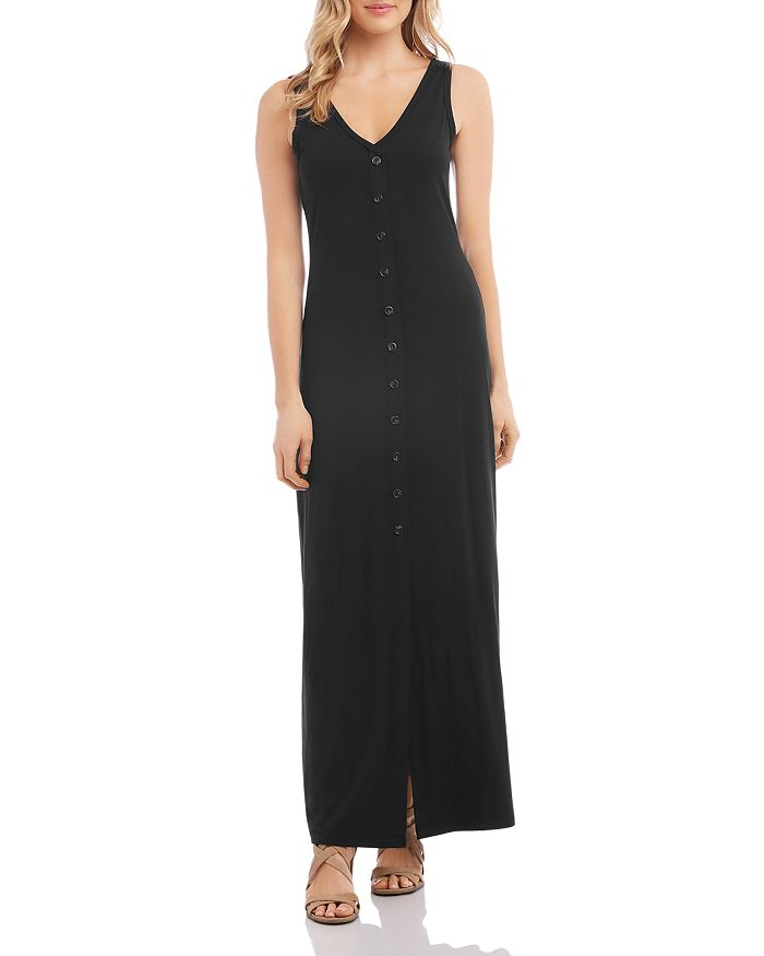 Karen Kane - Alana Button-Front Maxi Dress