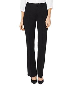 NYDJ - High-Rise Wide-Leg Ponte Pants - 100% Exclusive