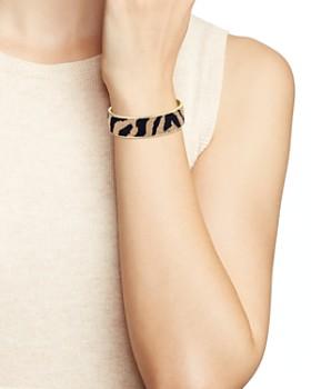 AQUA - Animal Print Faux Fur Cuff Bracelet - 100% Exclusive