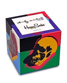 Happy Socks - Warhol Skull Gift Box - Pack of 3