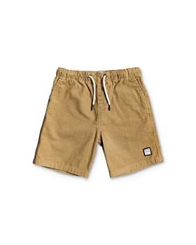 Quiksilver - Boys' Wax Out Corduroy Shorts - Little Kid