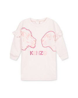 Kenzo - Girls' Embroidered Lion Dress - Baby
